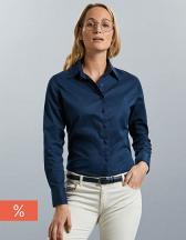 Ladies` Long Sleeve Classic Twill Shirt